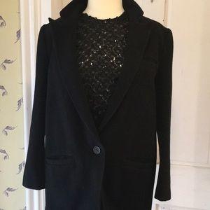 Vintage Nancy Heller cashmere blazer